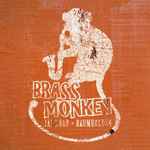 Logodesign für die Brass Monkey Jazz Bar in Baumholder
