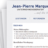 Jean-Pierre Marques - Webdesign, HTML/PHP